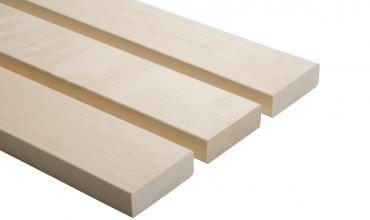 Csomómentes fehér nyárfa szauna padléc 21x90mm A minőség